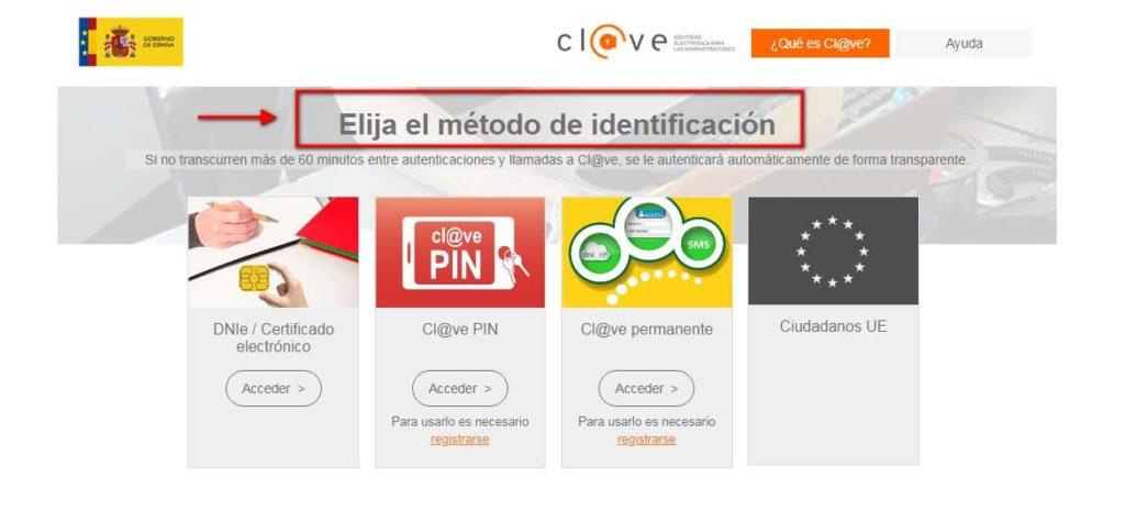 cl@ve en línea