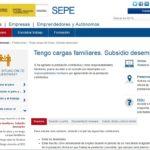 Cómo solicitar la ayuda familiar del SEPE • Requisitos, duración y Cuantía