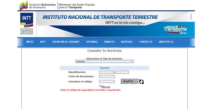 Canje de Licencia Venezolana
