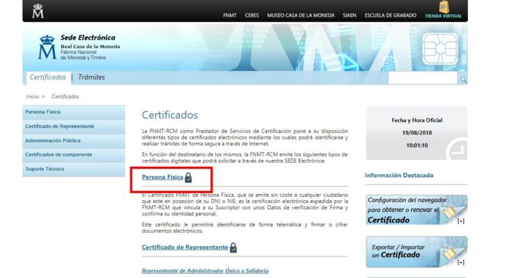 Certificado de Convivencia requisitos