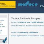 Pasos para solicitar la Tarjeta Sanitaria Europea con Muface