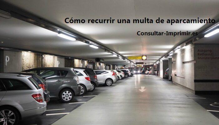 Multa de aparcamiento 1