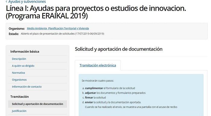 ayudas proyectos o estudios innovación
