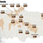 Coeficiente multiplicador valor catastral comunidad valenciana