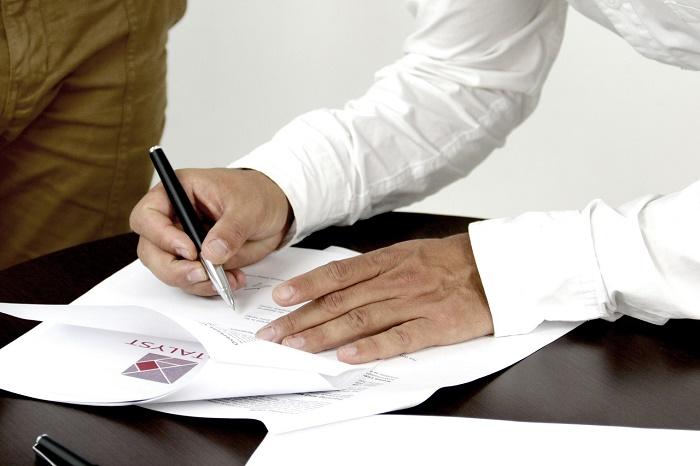 firma del finiquito