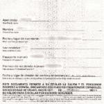 Formulario para autorizacion de regreso