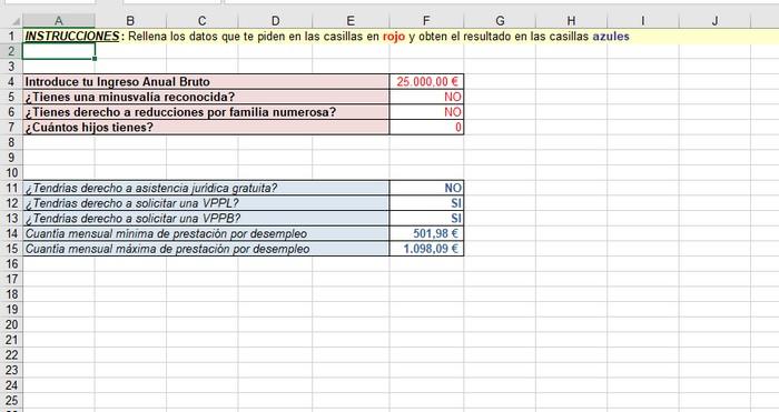 herramienta para calcular IPREM