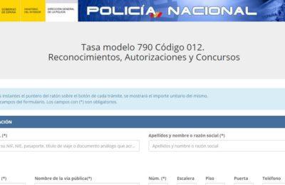 modelo 790 código 012