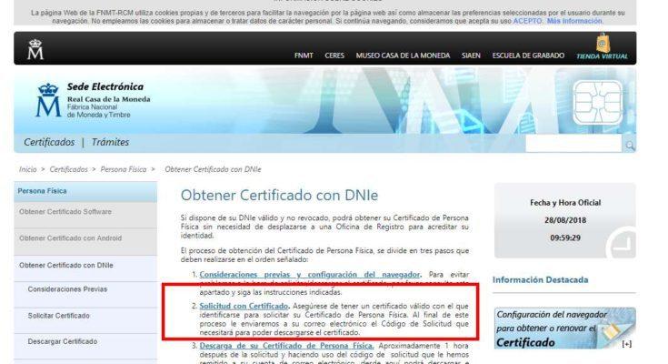 obtener certificado digital