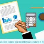 Subvenciones de la union europea para emprendedores