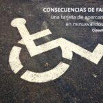 Consecuencias de falsificar una tarjeta de aparcamiento para minusválidos