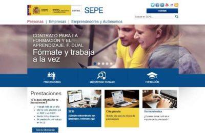 web SEPE
