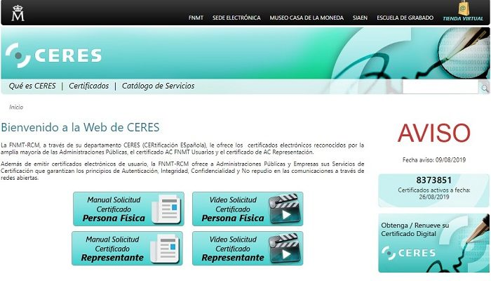 web ceres