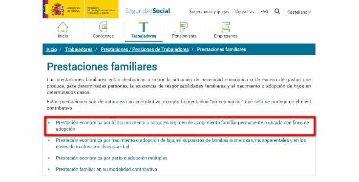 web de la seguridad socia